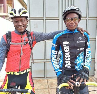 Teshie Homowo Cycling Challenge today