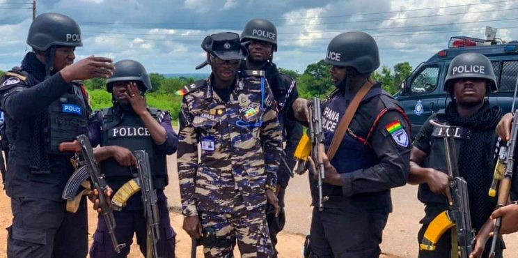 Anti-Robbery Taskforce in the Bono East Region Commended for Crime Fighting