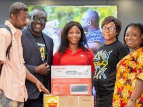 GMA-UK: KABFAM sponsors lucky customer to London