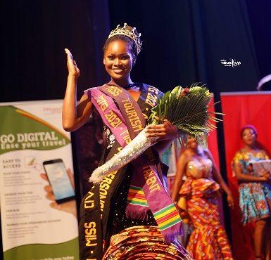 Jemima Nyamewaa crowned Miss Tourism Ghana