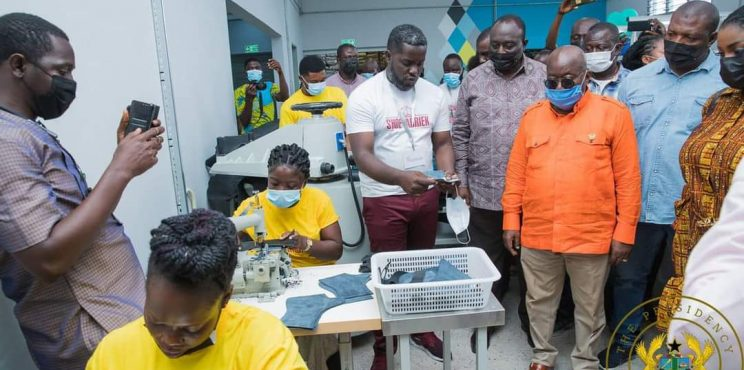 1D1F: PRESIDENT AKUFO-ADDO COMMISSIONS GH¢6.2 MILLION SHOE MANUFACTURING FACTORY