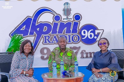 Kojo Oppong Nkrumah joins Della Sowah to unveil Akpini Radio