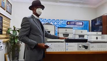KRIF Ghana Ltd. launches new HP Shredders